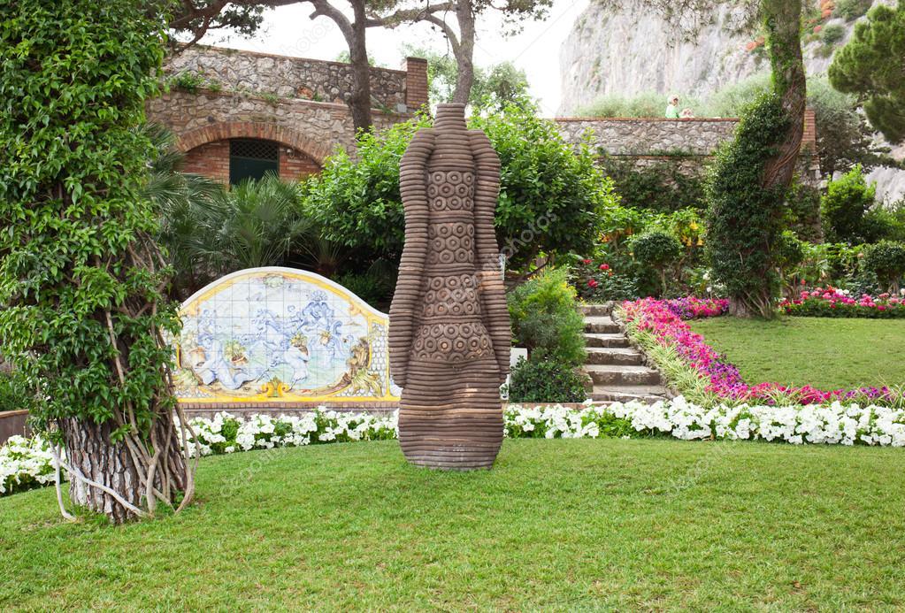 Jardin dauguste capri italie photographie for Jardin italien