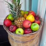 Basket of fruit — Stock Photo #48217293
