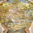 Ceramic floor of San Michele (Saint Michael) church, Anacapri — Stock Photo #48343217