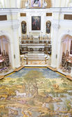 Ceramic floor of San Michele (Saint Michael) church, Anacapri — Stock Photo