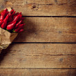 Bunch of red hot pepper — Stock Photo #51781563
