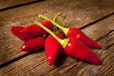 Hot chili peppers — Stock Photo