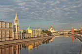 Morning in Moscow. — Stock Photo