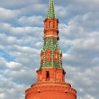 Tower of Moscow Kremlin. — Stock Photo #18045925