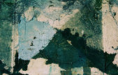 Grunge texture with colored plaster — Stock Photo