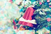 Fondo de navidad vintage. — Foto de Stock