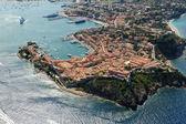 Elba island-Portoferraio harbour — Stock Photo