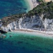 Capo Bianco beach-Elba island - Stock Photo