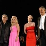 Andrea Bocelli & friends — Stock Photo