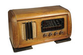 Old radio receiver — Stock Photo