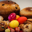Festive easter food — Stock Photo