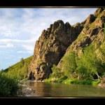 Gold Altai — Stock Photo