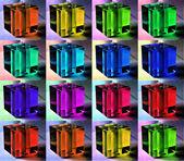 Multi-colored cube — Stock Photo