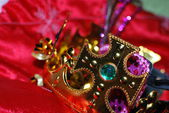 Gold crown — Foto de Stock