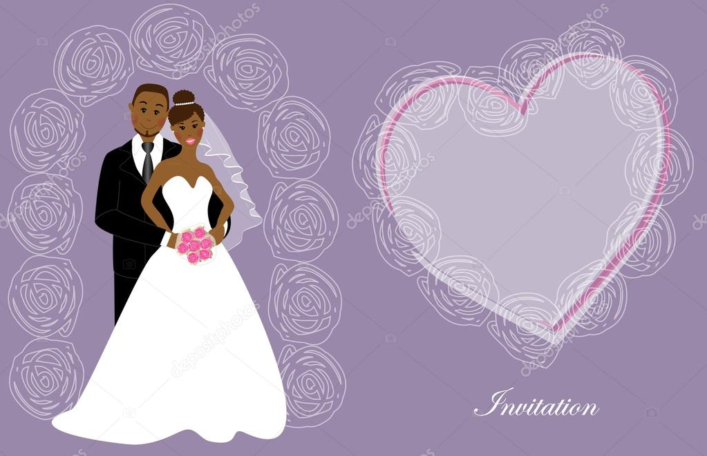 Multiracial wedding