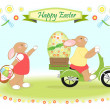 Easter bunny — Stock Photo #23506639