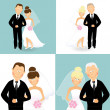 Stock Vector: Wedding 3