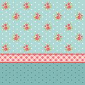 Vintage pattern 2 — Stock Vector