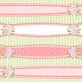 Vintage ribbons — Stock Vector