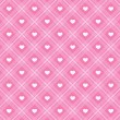 Retro hearts background 15 — Vector de stock