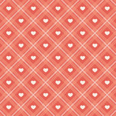 Retro hearts background 16 — Stock Vector