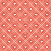 Retro hearts background 16 — Stock Vector