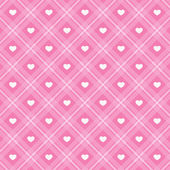 Retro hearts background 15 — Stock Vector