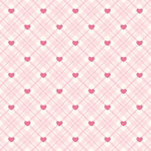 Retro hearts background 12 — Vector de stock