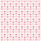 Retro hearts background 8 — Stock Vector