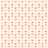 Retro hearts background 7 — Stock vektor