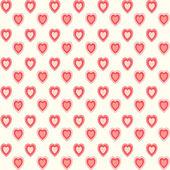 Retro hearts background 2 — Stock Vector