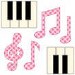 Stock Vector: Music 3
