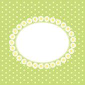 Daisies frame 2 — Stock Vector