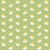 Daisies background 8 — Stock Vector