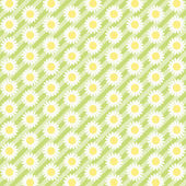 Daisies background 7 — Stock Vector