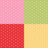 Retro polka dot background — Stock Vector