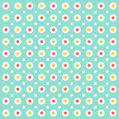 Retro background with dots — Stock Vector