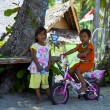 Life on the island of Gili Air — Stock Photo