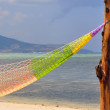 Stockfoto: Life on the island of Gili Air