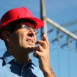 Electrical Engineer At Work — Stock Photo