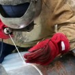 Industrial Welding - Stock Photo