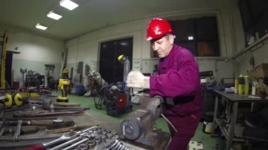Maintenance Workshop Service — Stock Video