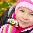 Autumn little girl — Stock Photo #15738249