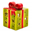 Ceramic christmas gift — Stock Photo #16207393