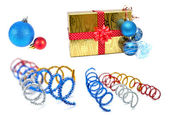 Collection of christmas decoration — Stock Photo