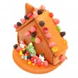 Decorated gingerbread house — Stock Photo #18142177