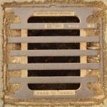 Street drain — Stock Photo
