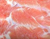Raw pork as background — Stock Photo