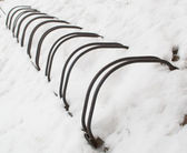 Aparcamientos de bicicletas — Foto de Stock