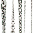 Stock Photo: Set of metal chains